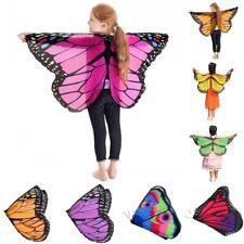 Prinzessin Kinder Mädchen Fee Schmetterling Flügel Kostüm Kleinkind Schal