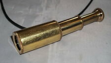 "3"" Brass Mini Telescope/Spyglass - Pirate - Nautical - Maritime - Kids - New"
