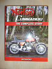 Norton Commando The Complete Story HISTORY EVO SPECS BOOK GUIDE By MATTHEW VALE
