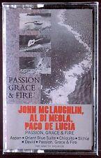 John McLaughlin/Al Di Meola/Paco De Lucía-Passion, Grace & Fire LP SEALED OOP