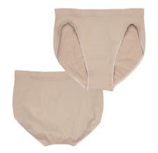 2 pack Seamless DANCE BRIEFS underwear gymnastics high cut