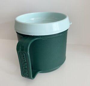 Stanley Aladdin Insulated Travel Coffee Mug & Lid S12 Camping Green 12 Oz USA