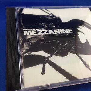 MASSIVE ATTACK: Mezzanine (ULTRA RARE OUT OF PRINT AUSTRALIAN 1ST PRESSING CD)