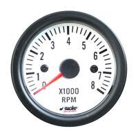 Simoni Racing Contagiri 0-8000 RPM per 2, 3, 4, 5, 6, 8 Cilindri Retroilluminato