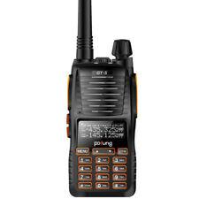 Neu! Baofeng/Pofung *GT-5* 2000mAh FM Portatil Transceptor Emisora Walkie Talkie