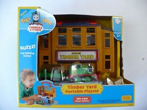 Thomas & Friends Take Along 'Timber Yard Portable Playset' by Learning Curve