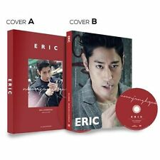 ERIC(Shinhwa) [ERIC in HONGKONG] Photobook + DVD (cover A or B) SEALED K-POP