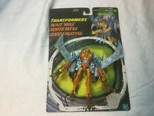 TRANSFORMERS BEAST WARS TRANSMETALS MAXIMAL DELUXE AIRAZOR FIGURE WITH CARD