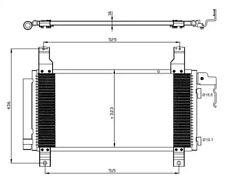 Condenser, air conditioning NRF 35464