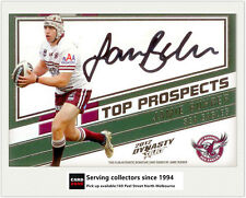2012 Select NRL Dynasty Top Prospect Signature Card TP6 Jamie Buhrer (Manly)