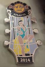 Hard Rock Cafe / ATLANTA / Go Go Girls Series / 2014 / Pin