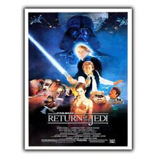 METAL SIGN WALL PLAQUE STARWARS RETURN OF THE JEDI Movie Film at poster