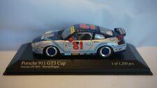 EXTREMELY RARE Minichamps Porsche 911 GT3 Cup Daytona 250 2003 Team G&W #81 1:43