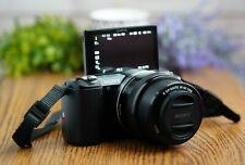 Sony a5000 20.1MP Mirrorless Camera w/16-50mm PZ Lens