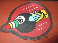 WWII USAAF THE FLYING EIGHT BALLS 44 TH  BG 8 TH AAF FLIGHT JACKET  PATCH