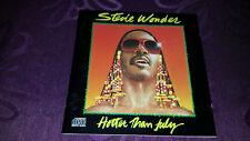 CD STEVIE WONDER/Hotter Than July-album 1980