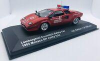 "Palma 43 1/43 LAMBORGHINI COUNTACH ""SAFETY CAR"" MONACO GP 1983 J.ICKX"