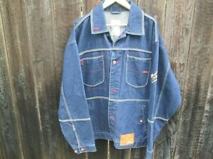 MUHAMMAD ALI Platinum Fubu Denim Jacket THE GREATEST BOXING