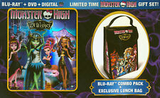 MONSTER HIGH - 13 WISHES (GIFT SET W/ LUNCH BAG) (BLU-RAY) (BOXSET) (BLU-RAY)