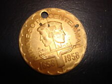 1958 MINNESOTA CENTENNIAL TOKEN COIN TCF FEDERAL 35th