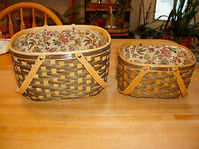 Longaberger Rare Set 2: Nat'L Sales Achiever & Nat'L Sponsoring Vip Baskets 2008