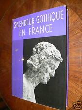 ancien livre art splendeur gothique en france m pobe