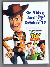 Toy Story 2 Pinback Button Movie Film Walt Disney Pixar Advertising Cowboy Woody