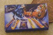 1:12 Empty Cadbury Sleigh Selection Packet Dolls House Miniature Food Accessory