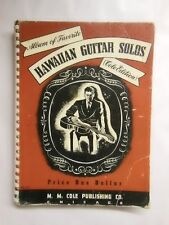 Album of Favorite HAWAIIAN GUITAR SOLOS (Cole Edition) No. 210 Vintage 1940