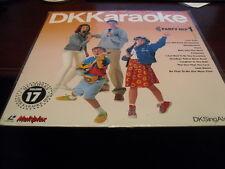 "DK KARAOKE 12"" LASER DISC MULTIPLEX VOL 17 PARTY MIX VOL 1  DKC-17 SEALED"