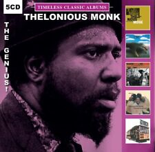 Thelonious Monk - The Genius - 5 Timeless Classic Albums - (5 CD) NEW & SEALED