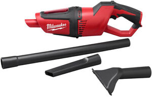 Cordless Vacuum Battery Compact Handheld Milwaukee Workshop Home Car Clean NEW