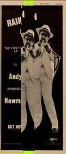 Andy Thunderclap Newman Track Rec. LP Advert MM-SDYE