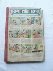 ALBUM LES HISTOIRES EN IMAGES DE 1936 N° 1742 A 1820