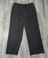Style & Co Womens Size 12 Short Stretch Black Dress Pants Trousers Slacks