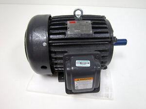 DAYTON 2MXU7 5 HP GENERAL PURPOSE MOTOR 3-PHASE 1750 NAMEPLATE RPM