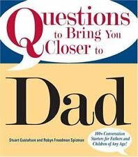 Questions to Bring You Closer Dad, Great Book For Father's Day Gift