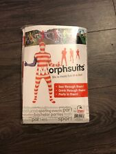 Morph suit American Flag Red/White/Blue Spirit Halloween Adult XL