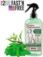 Wahl Deodorizing & Refreshing Pet Deodorant for Dogs Coat Shine & Strengthening