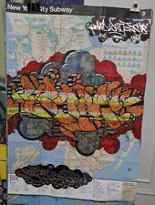"GRAFFITI MAP ""BOM5"" LISTED ARTIST"