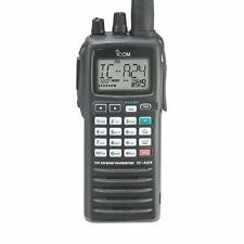 Icom IC-A24 NAV/COM VHF Airband Transceiver - Aviation Handheld Radio - A24 01