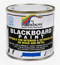 Rainbow Chalk *Blue* Blackboard Chalkboard Paint 250ml Liquid Chalk Marker Pens