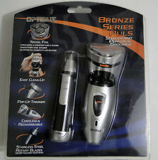 Optimus BRONZE SERIES SHAVER Plus Personal Trimmer SET, Brand New Free Shipping