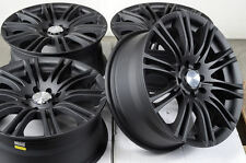 16 4x100 4x114.3 Matte Black Rims Fits Scion Xa Xb Pontiac G3 G5 Cobalt Wheels