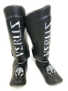 VERUS Shin Instep Guard Kickboxing MMA Muay Thai Leg & Foot Protectors Pad Taekw