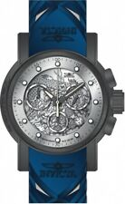 Invicta 28197 S1 Rally Men's 48mm Chronograph Titanium-Tone Silver Dial Watch