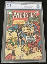 AVENGERS #83 CBCS 9.4 NM OW 1ST APPEARANCE VALKYRIE LIBERATORS NOT CGC