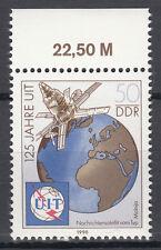 DDR 1990 Mi. Nr. 3335 mit Oberrand Postfrisch (25388)