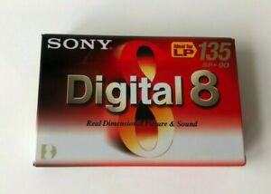 Sony Digital 8 Camcorder N8-90P2 Kassette  SP 90 min /  LP 135 min - Neu