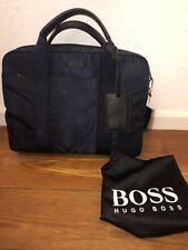 Hugo Boss Tasche, Business, Umhängetasche, Aktentasche, blau, NEU
